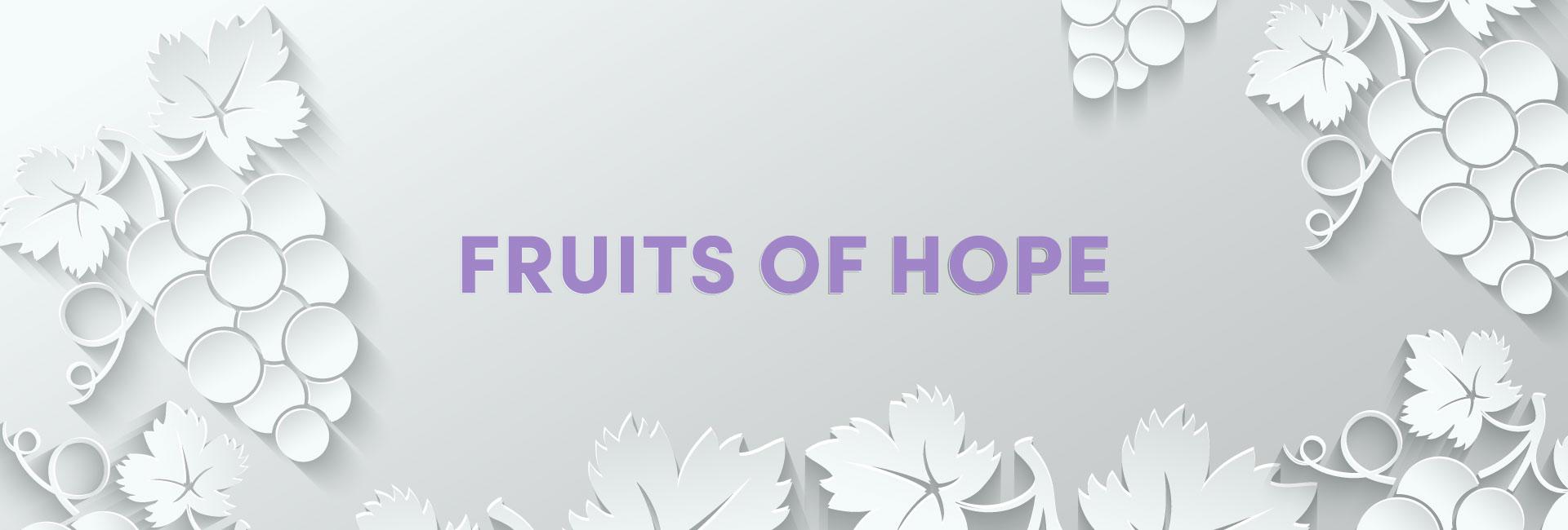 Fruits of Hope Header